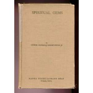 Spiritual Gems: Huzur Maharaj Sawan Singh Ji: Books