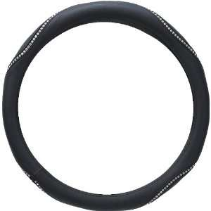 on Black Stripe Car Truck SUV Steering Wheel Cover   Small Automotive