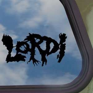 Lordi Black Decal Metal Rock Band Car Truck Window Sticker