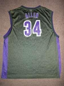 RAY ALLEN 34 Bucks NBA Basketball Jersey Adult 2XLarge