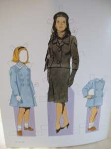 John F.Kennedy and His Family Paper Dolls byTom Tierney