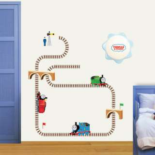 thomas train kids wall removable decal sticker