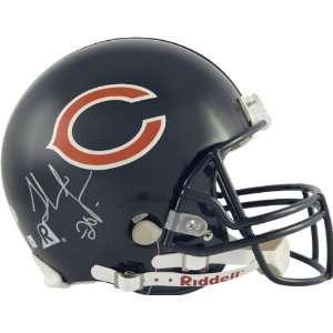 Thomas Jones Autographed Pro Line Helmet  Details