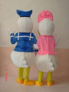 Donald Duck and Daisy Duck ADULT CARTOON MASCOT COSTUME
