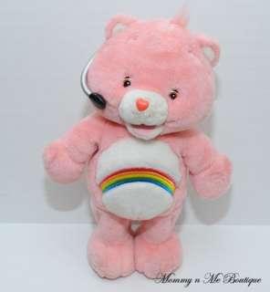 Care Bears Cheer Bear Talking Workout Bear Plush Toy