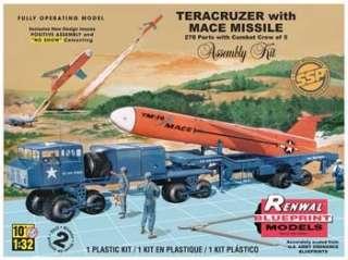 Revell Model Kit 7812 1/32 Teracruzer w/Missile (Renwal) SSP Factory