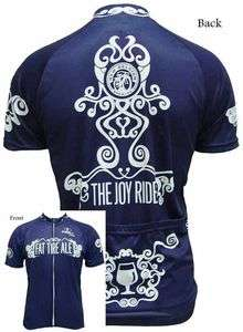 New Belgium NEW Blue Joy Ride Fat Tire Cycling Jersey