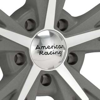 American Racing Authentic Hot Rod Daytona Machined w/Anthracite Accent