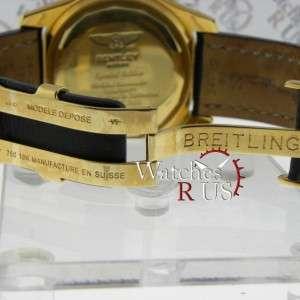 Breitling Bentley Motors K25362 Black Leather bracelet Black Dial   No