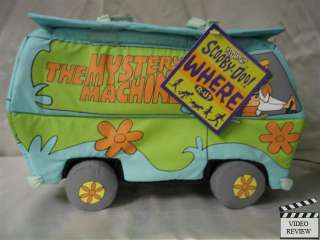 Scooby Doo Mystery Machine secret compartment displayed