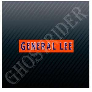 General Lee The Dukes of Hazzard Car Sticker Decal