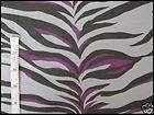 Gray/Purple Knit Fabric w/ZEBRA PrintDiY PuNK 80s