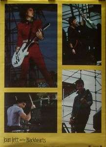 Joan Jett And The Blackhearts 20x28 Collage poster 1983