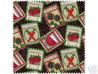 Debbie Mumm Cotton Fabric  Best Loved Seed Packets