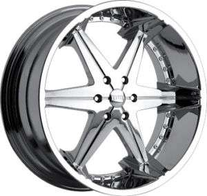 30 DUB BIG HOMIE CHROME WHEELS 6X139.7