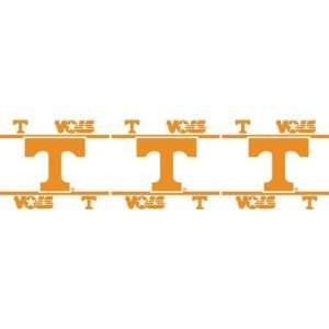 Tennessee UT Vols Volunteers 3 Roll/45ft Wall Paper Border: Sports