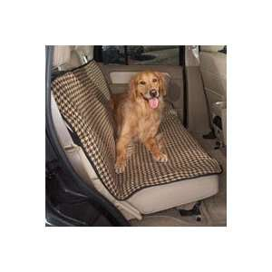 Houndstooth Print Car Seat Cover  55 length x 42 width