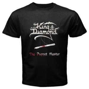 King Diamond The Puppet Master Black Shirt Size S   3XL