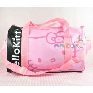 Hello Kitty Gril Handbag Travel Shoulder Gym sport Bag