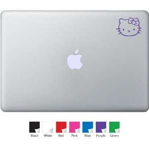 Mini Hello Kitty Decal for Macbook, Air, Pro or Ipad