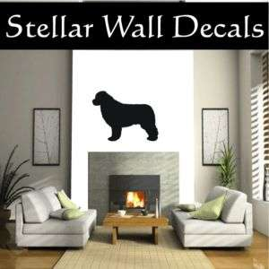 NewfoundLand Dog Wall Car Vinyl Decal Sticker