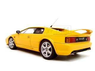 LOTUS ESPRIT V8 YELLOW 1:18 AUTOART DIECAST MODEL