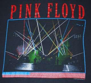 VINTAGE PINK FLOYD MOMENTARY LAPSE TOUR T SHIRT 1987 XL
