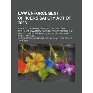 Law Enforcement Officers Safety Act of 2003 report
