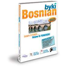 BYKI Bosnian Language Learn Tutor Software & MP3 Audio