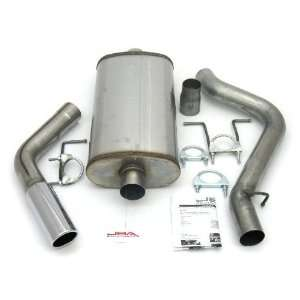 JBA 40 1505 3 Stainless Steel Exhaust System for Dakota Club Cab 97
