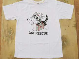 Chis Sweet Home CAT RESCUE red cross Anime T Shirt