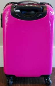 hardshell rolling 2pc. carryon luggage set Bubble gum pink 20