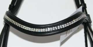 FSS Rhinestone Crystal CURVE SUPER BLING Comfort BRIDLE