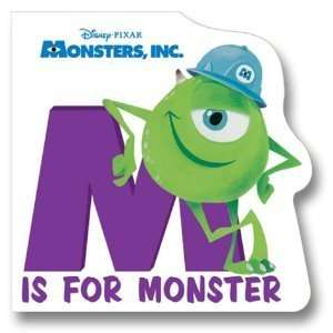 M is for Monster: Mike Wazowski: Books
