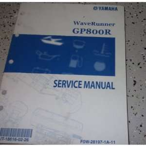 2001 YAMAHA WaveRunner GP800R GP 800R Service Shop Repair