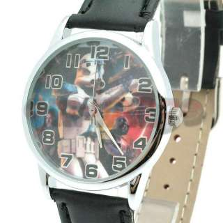 Brand New Star Wars Clone Trooper leather strap Wrist Watch QT1123