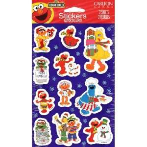Sesame Street Christmas Theme Scrapbook Stickers Arts