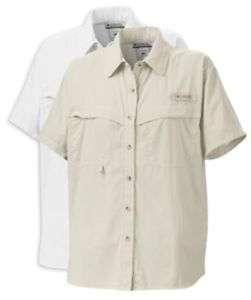 Columbia Omni Dry Eddyline Ladies Fishing Shirt, SS NWT