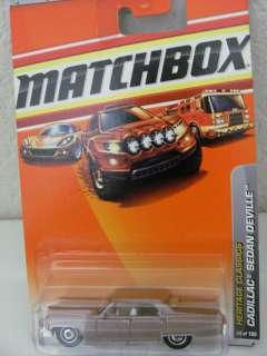 MATCHBOX 2010 CADILLAC SEDAN DEVILLE   HERITAGE CLASSIC