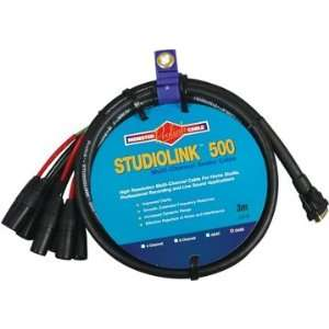 Multi Channel Audio Snake Cables; DA 88 Interconnect; 3 Meter   D Sub