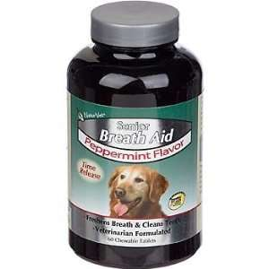 NaturVet Senior Breath Aid Peppermint Flavor Time Release