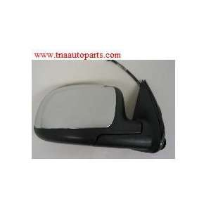 SIDE MIRROR, LEFT SIDE (DRIVER), POWER with CHROME CAP Automotive