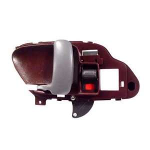 Interior Drivers Red Door Handle Assembly Pickup Truck SUV Automotive