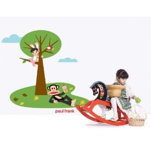 Paul Frank Julius Picnic with Bunny Girl Wall Sticker