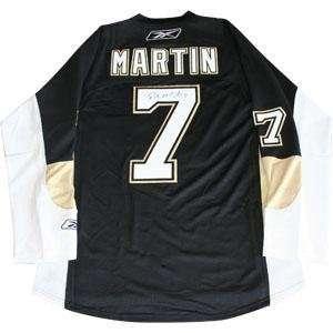 Paul Martin Autographed Jersey   Replica   Autographed NHL Jerseys