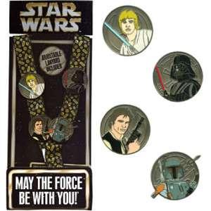 Disney * STAR WARS * 4 pin + Lanyard & Card Starter Set