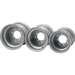 ITP Standard Steel Wheels Spun/Stamped Silver  Sports