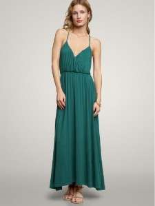 NWT Jade Green GAP Long Jersey Maxi Dress XL sold out