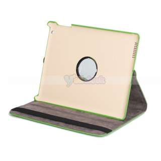 New 360 Magnetic Smart Cover Leather Case Rotating Stand for Apple
