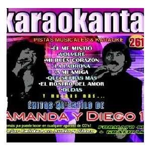 Karaokanta KAR 4261   Al Estilo de Amanda y Diego   I
